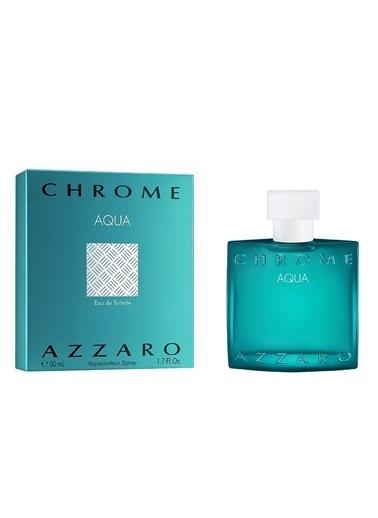 Azzaro Chrome Aqua EDT 50 ml Erkek Parfüm Renksiz